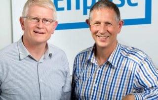 Mark Loveys, Enprise Group, and Tim Mulcock, Datagate Innovation