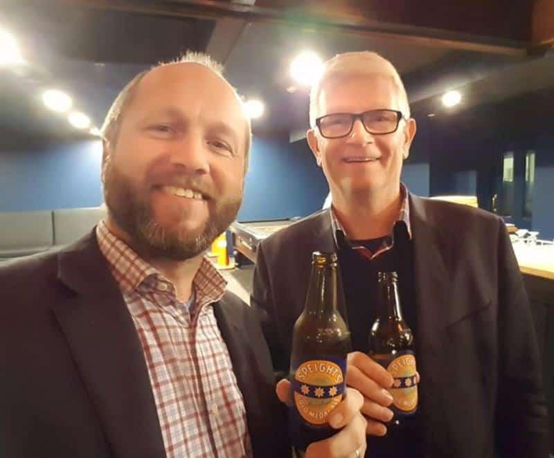 Ryan Ashton and Mark Loveys at AFQY Dunedin, September 2017