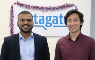Liston Pinto and Phillip Wang have joined Datagate