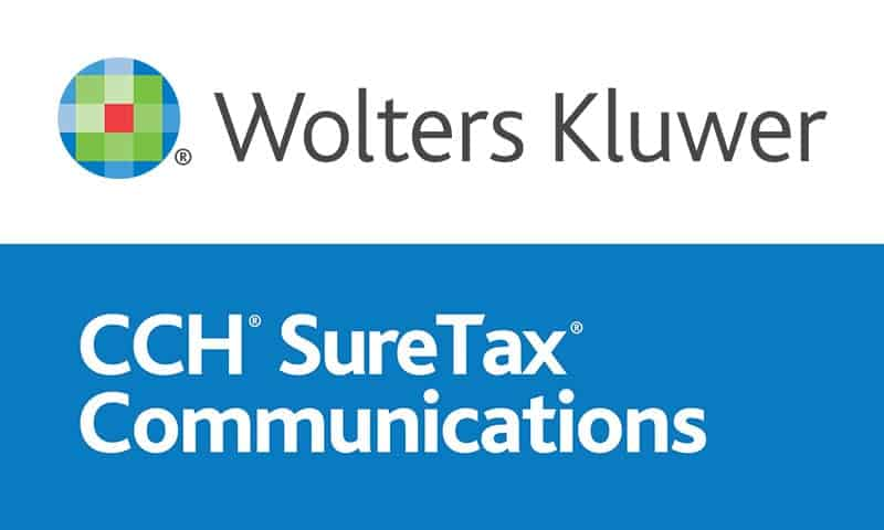 Datagate partner - Wolters Kluwer CCH SureTax Communications