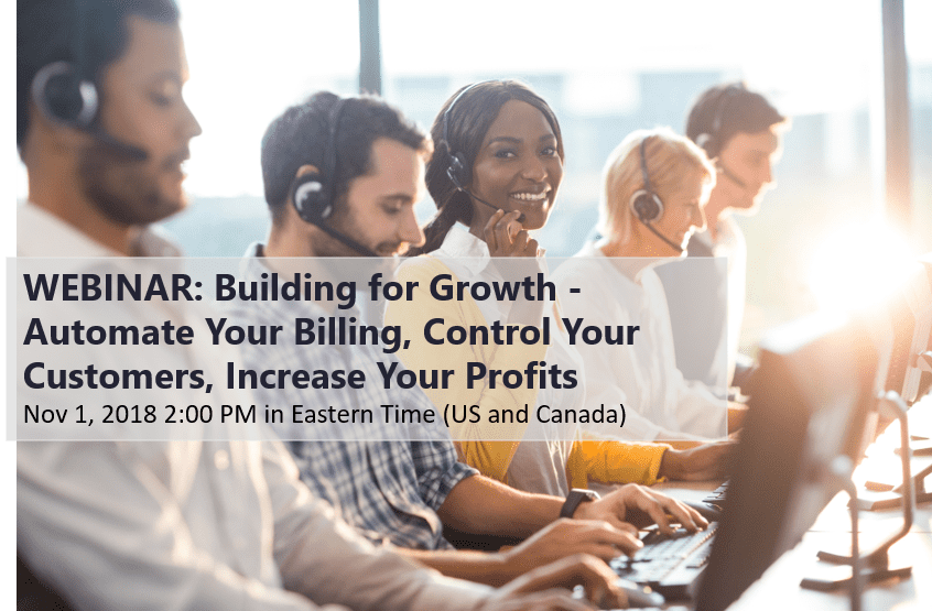Webinar: Building for growth | November 1, 2018