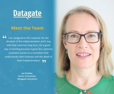 Meet the Datagate Team | Lee Dubber, Senior Consultant