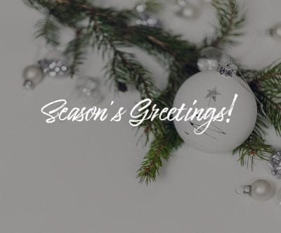 Season's Greetings from Datagate | Banner