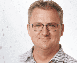 Geof Robinson, Telesmart CTO | Datagate client banner