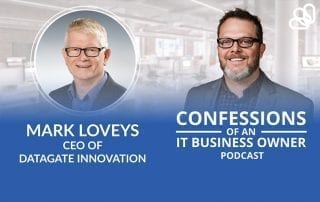 ConnectBooster podcast Ryan Goodman and Mark Loveys, September 2020