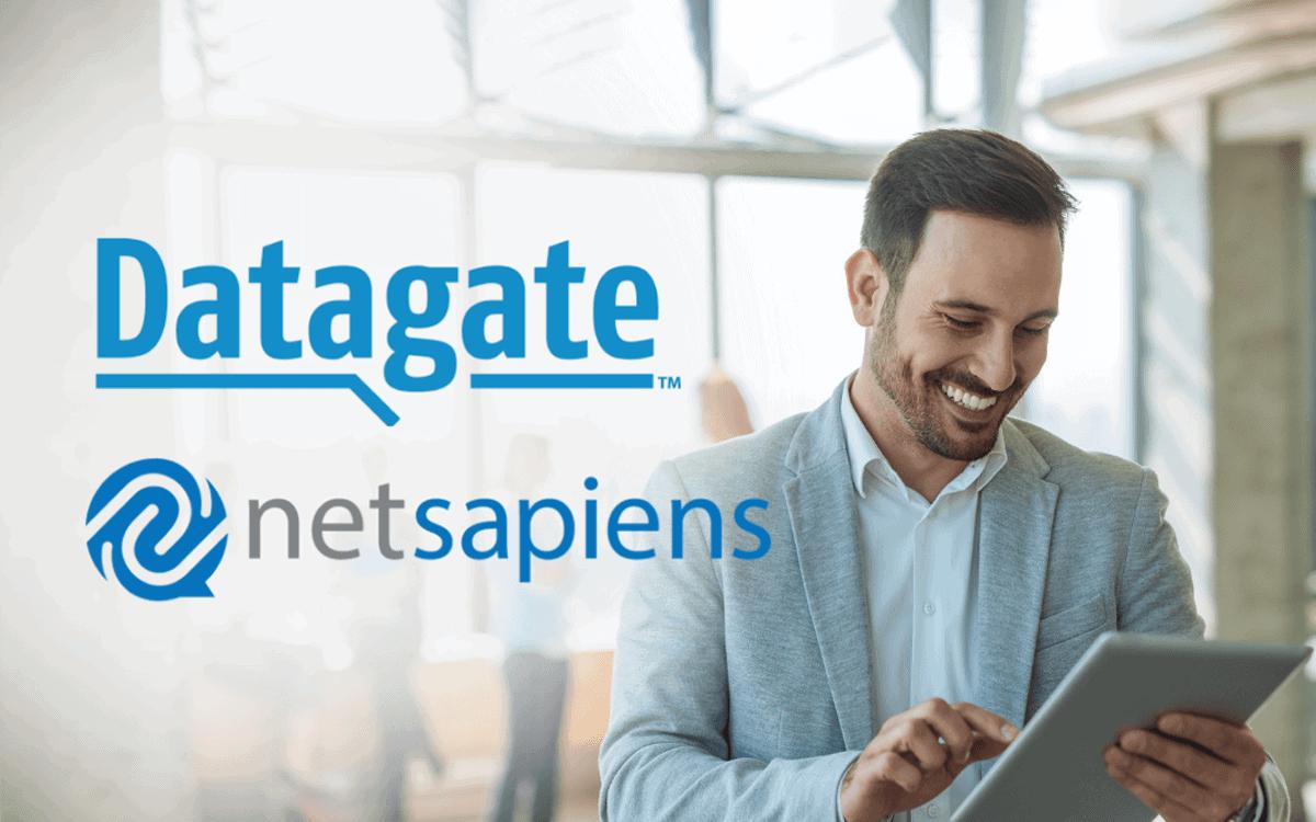 Datagate-NetSapiens partnership banner | 1200x750px
